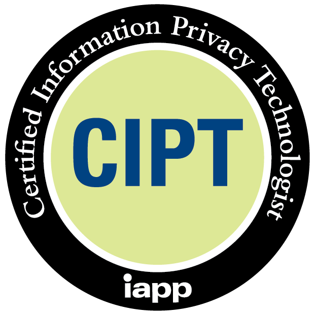 CIPT Certified Information Privacy Technologist